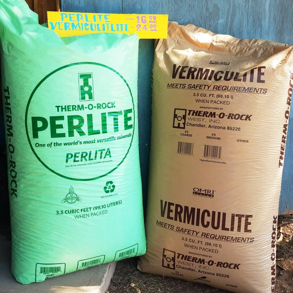 Perlite Vermiculite Bags